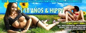 18 A�OS, PUTILLA, HIPPIE Y NINF�MANA